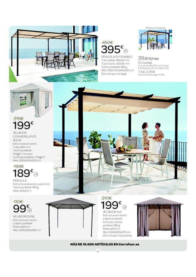 Catálogo Alcampo de muebles jardín 2020 - La Actualidad Manda
