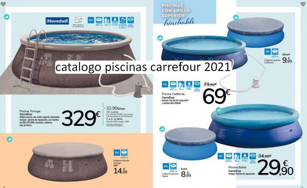 piscinas carrefour 2021 precio catalogo