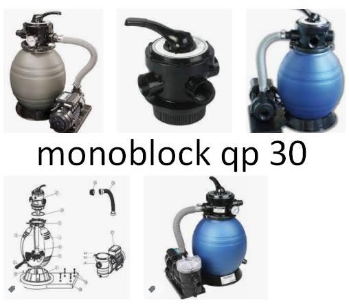 monoblock qp 30 precio filtro piscinas