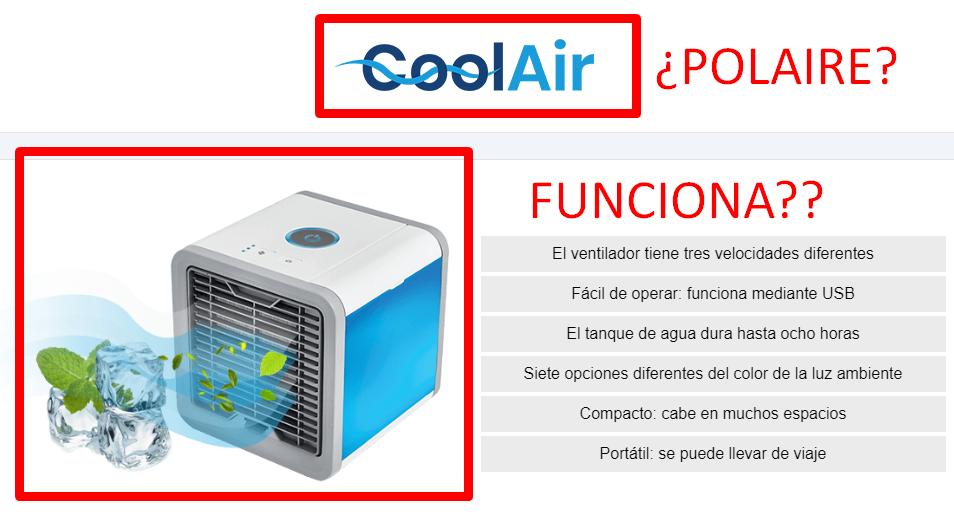 polaire aire portatil acondicionado